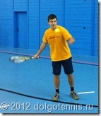 Секция тенниса МФТИ. Паша Ситников. (ФУПМ, 2 курс)