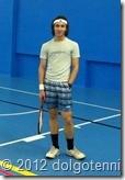 Секция тенниса МФТИ. Саша Петров. (ФМБФ, 1 курс)