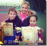 Татьяна Анатольевна Тугушева со своими учениками, Сидоровым Ваней и Кудрявцевой Полиной