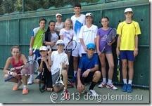 Команда Мытищинского Теннисного Центра в Турецком Белеке