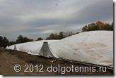 Подъём купола Теннисного центра в Долгопрудном. 15 сентября 2012 г.
