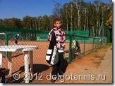 Паша Шумихин из Химок выручил Никиту - дал доиграть матч своими ракетками. Спасибо, Паша!