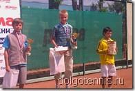 Дима Кураксин, Никита Сафронов и Коля Федотенко - призёры турнира в Люберцах