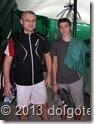 Участники Парного турнира ТЦ Долгопрудный 29.12.2013 г. - Александр Борщёв и Кирилл Баранов