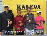 Финалисты парного турнира Kaleva Open