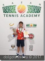 Иван Попов - победитель турнира Кубок Победы, 5 мая 2017, Казань