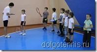 Фестиваль тенниса В Долгопрудном. 18.12.2011