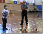 Фестиваль тенниса в Долгопрудном. Задание принимает тренер ДЮСШ Никаноров А.В.