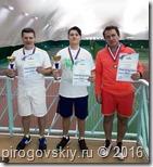 Призёры турнира в Пироговском