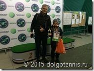 Теннисная семья - Александр и Марсель Борщёвы