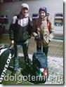 На Казанском вокзале в Москве перед отправлением на Турнир в Самару. Январь 2011 г.