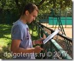 Макар Смоляков внимательно наблюдал за матчем Никиты, делал пометки в своих записях