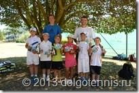 Участники турнира в хорватском Умаге. 31 июля 2013 г.