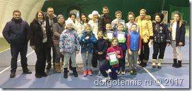 Участники Рождественского турнира в Пялово