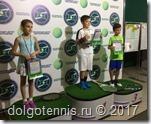 Призёры турнира Зелёнвый мяч в Долгопрудном